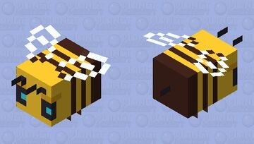 Buzzy Bees (Version 10 - Official) Minecraft Mob Skin