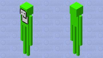 Dream Enderman Minecraft Mob Skin