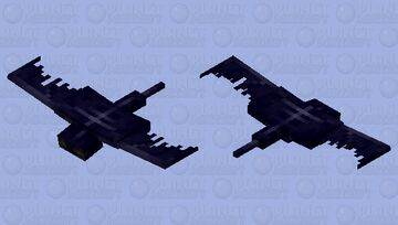 Camouflaged Phantom (preview doesn't do justice) Minecraft Mob Skin
