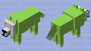 Dream wolf Minecraft Mob Skin