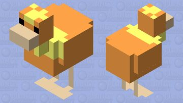 Torchic Minecraft Mob Skin