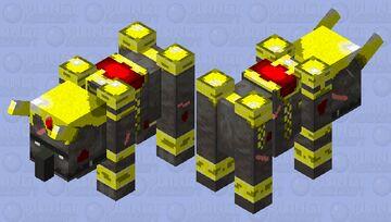 Elite Ravager Minecraft Mob Skin