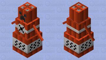 Explosive golem Minecraft Mob Skin