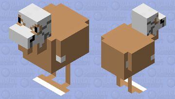 Cubone Chicken Minecraft Mob Skin