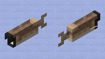 Head Less Cod Minecraft Mob Skin