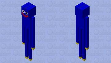 Huggy Wuggy (Poppy Playtime) Minecraft Mob Skin
