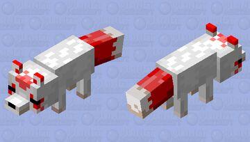 Kitsune Minecraft Mob Skin