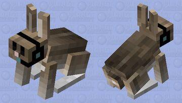 gamer rabbit Minecraft Mob Skin