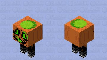 Who let the pumpkins walk out of the patch Minecraft Mob Skin
