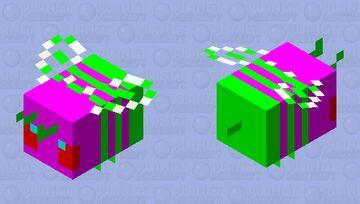 Strange Bee #2 Edition Minecraft Mob Skin
