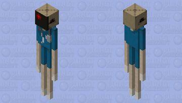 Faust - Guilty Gear Strive Minecraft Mob Skin