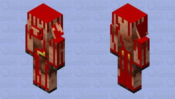 Blood Piglin ( From The Boiling Blood Union) Minecraft Mob Skin