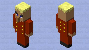 nutcracker Minecraft Mob Skin