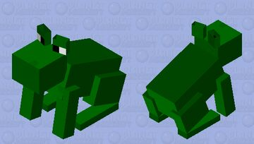 i tried making a frog thing 🧍♂️ Minecraft Mob Skin