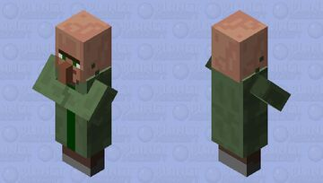 Better Villager Minecraft Mob Skin