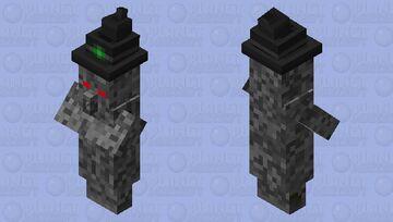 cyborg witch Minecraft Mob Skin