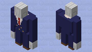 Buttler Bot Golem Minecraft Mob Skin