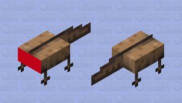 headles axolotle Minecraft Mob Skin