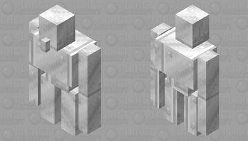 """Copper like Iron"" Iron Golem Alt. Minecraft Mob Skin"