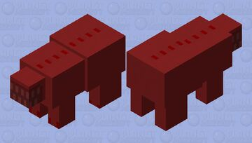 SCP-939 (Remake) Minecraft Mob Skin