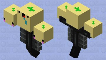 Derpy Lemon wither Minecraft Mob Skin