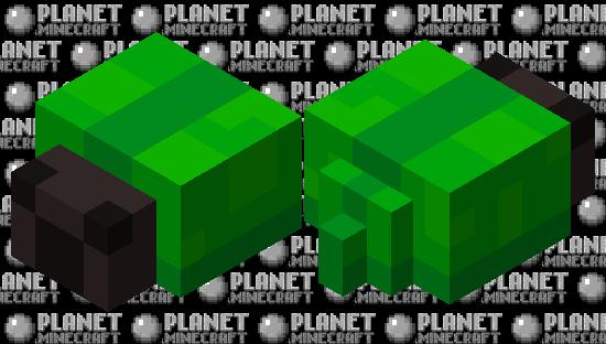 Green beetle Minecraft Skin