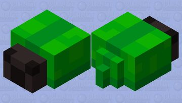 Green beetle Minecraft Mob Skin