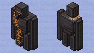 Netherite Golem By VillagerN4 Minecraft Mob Skin