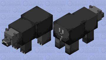 black bear Minecraft Mob Skin
