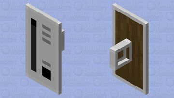 Toaster Shield v2 Minecraft Mob Skin