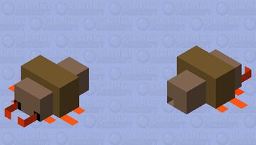 Thicc Termite Minecraft Mob Skin