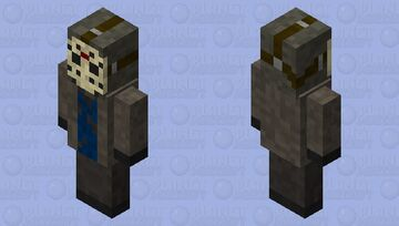 Jason Voorhees Vindicator Minecraft Mob Skin