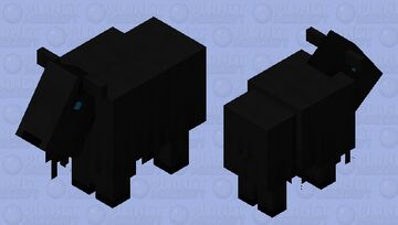 Lurking Goat Minecraft Mob Skin