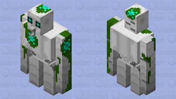 Irux Golem Colossus (Iron Golem) Minecraft Mob Skin
