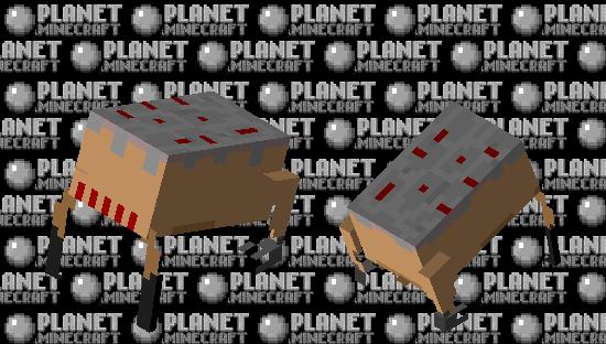 Armored Headcrab Minecraft Skin