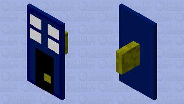 Police Public Call Box.... Minecraft Mob Skin