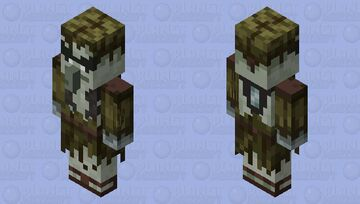 Hostile Fribager (Vindicator Variant-1) Minecraft Mob Skin