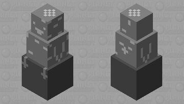 rock penguine on a rock Minecraft Mob Skin
