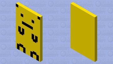 Pikachu Cape Minecraft Mob Skin