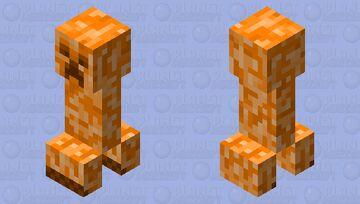 The Bees: Honey Creeper Minecraft Mob Skin