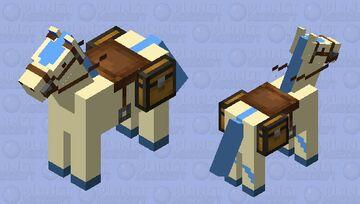 Shiny Ponyta Minecraft Mob Skin