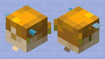 Broken Pufferfish Minecraft Mob Skin