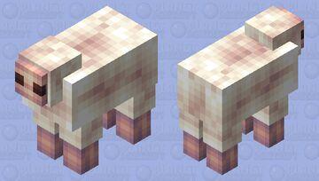 White Sheep Minecraft Mob Skin