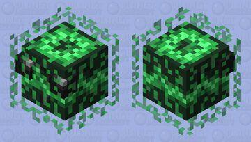 Matrix Slime Minecraft Mob Skin