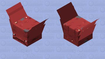 WHO SAID STRIDERS CAN'T FLY! (WINGS ARE SUPPOSE TO BE BRISTLES Minecraft Mob Skin