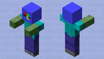 Zombie Wearing A Windows Vista Helmet Minecraft Mob Skin