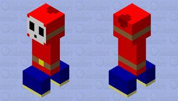 Shy Guy Creeper Minecraft Mob Skin