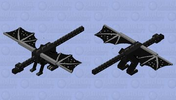 NightWing (Wings of Fire series) Minecraft Mob Skin