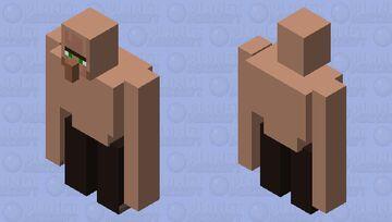 Villager golem *visible confusion* Minecraft Mob Skin
