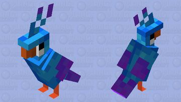 Blue and Purple | Entry for SouthDakotaGirl's Palette Contest Minecraft Mob Skin